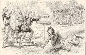 natives battling